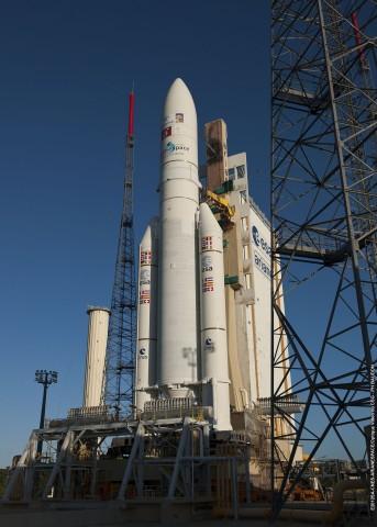 Eutelsat 21B vor dem Start (Copyright ESA-CNES-Arianespace)