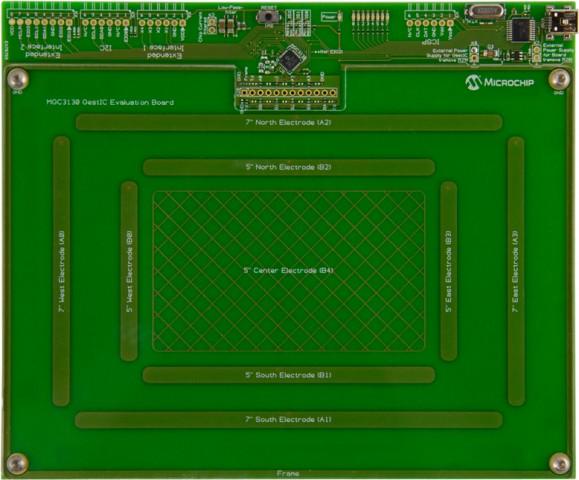 Gestic-Evaluierungsboard (Bild: Microchip Technology)