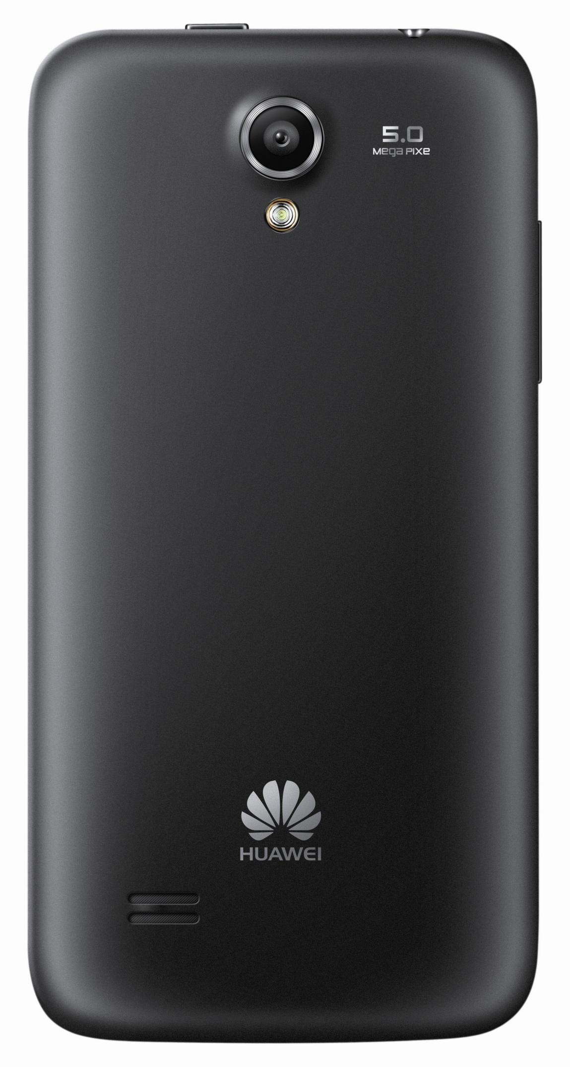 Huawei Ascend G 330: Android-Smartphone mit 4-Zoll-Display für unter 190 Euro - Die Kamera des Ascend G 330 hat 5 Megapixel, Autofokus und ein LED-Licht. (Bild: Huawei)