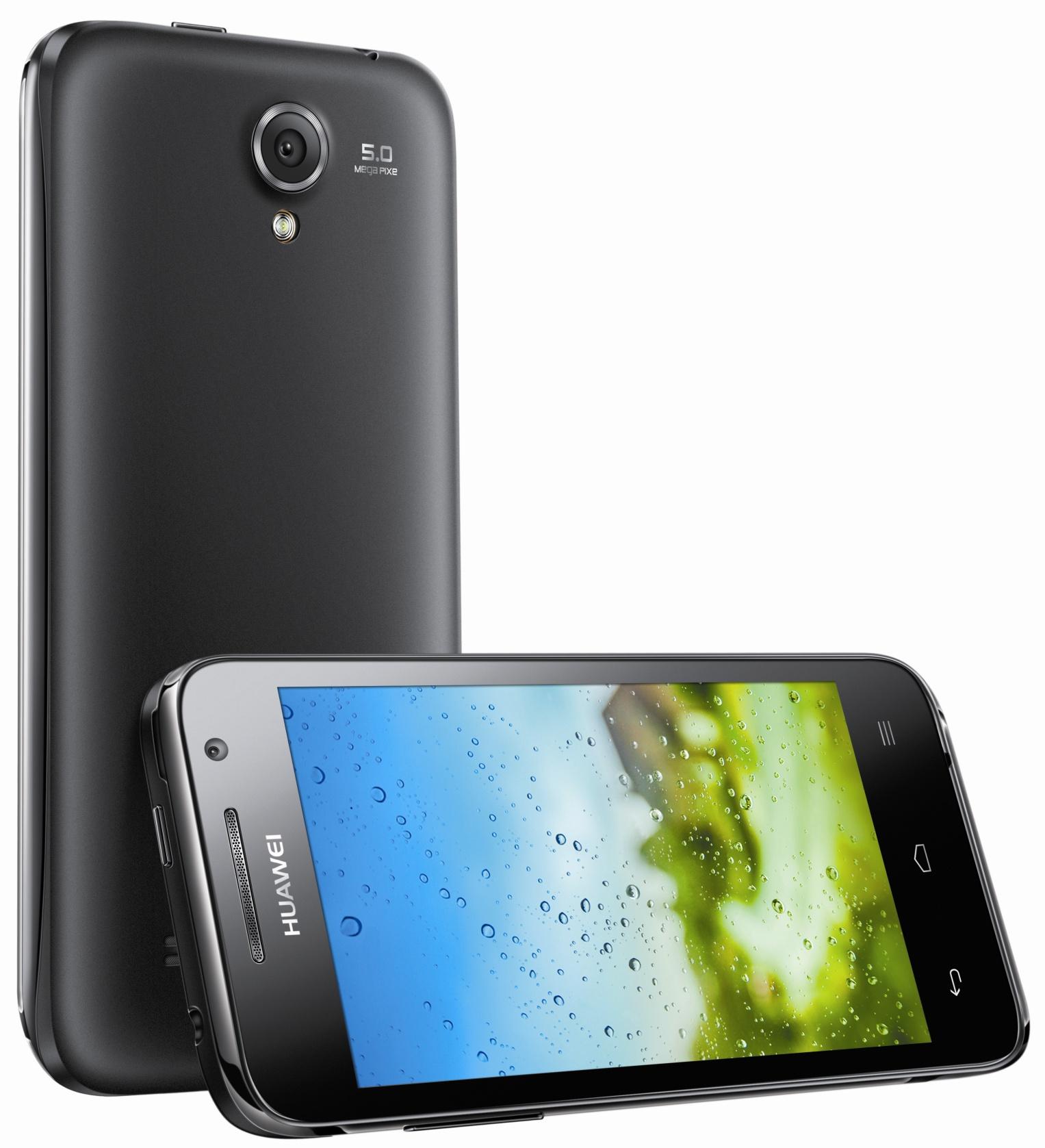 Huawei Ascend G 330: Android-Smartphone mit 4-Zoll-Display für unter 190 Euro - Das Huawei Ascend G 330 (Bild: Huawei)