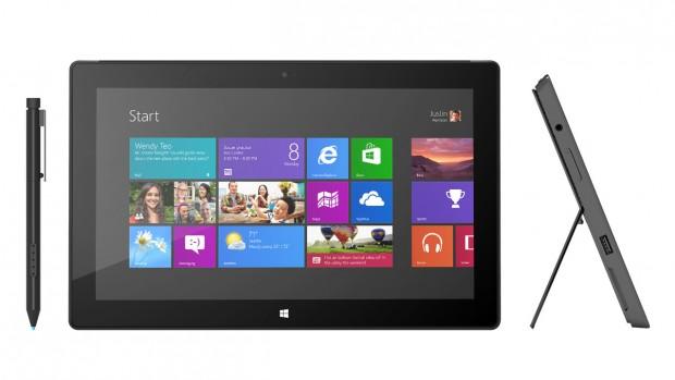Microsofts Tablet Surface Pro mit Windows 8