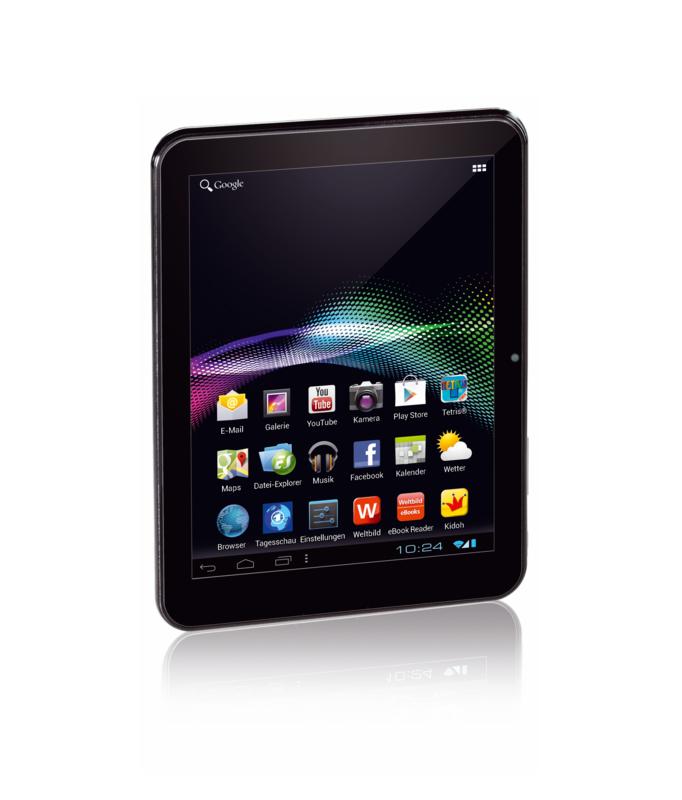 Tablet PC 4: 8-Zoll-Tablet mit Android 4 für 180 Euro - Tablet PC 4 bei Weltbild und Hugendubel (Quelle: Weltbild/Hugendubel)