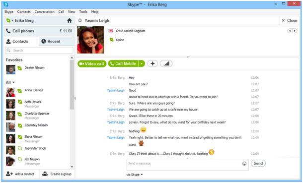 Microsoft: Windows Live Messenger wird mit Skype zwangsvereinigt - Kontakte aus dem Windows Live Messenger in Skype (Bild: Microsoft)