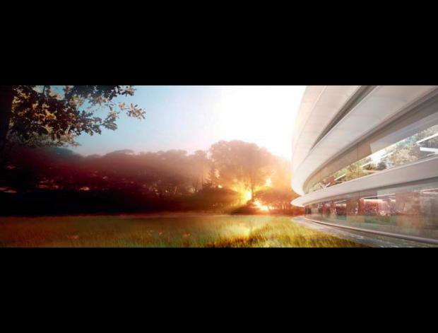 Entwürfe für Apples Campus 2 (Bild: Apple)