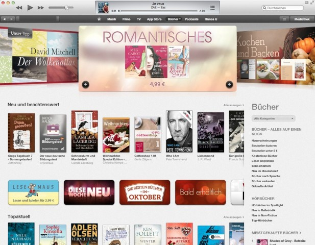 iTunes 11 (Bild: Apple)