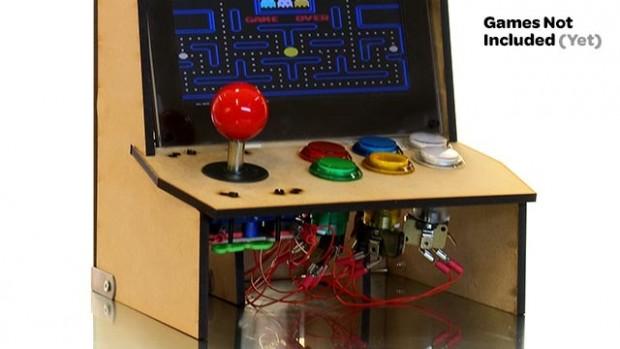 Picade Mini - Prototyp für Raspberry Pi (Bild: Pimoroni)