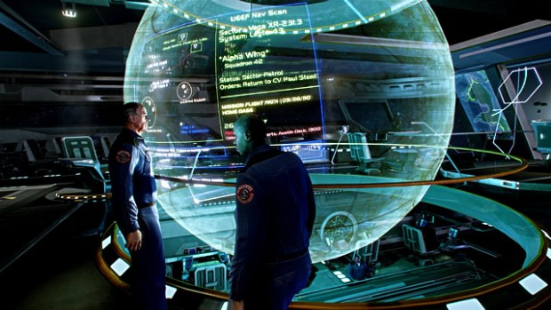 Szene aus dem Star-Citizen-Prototyp (Bild: Cloud Imperium Games)