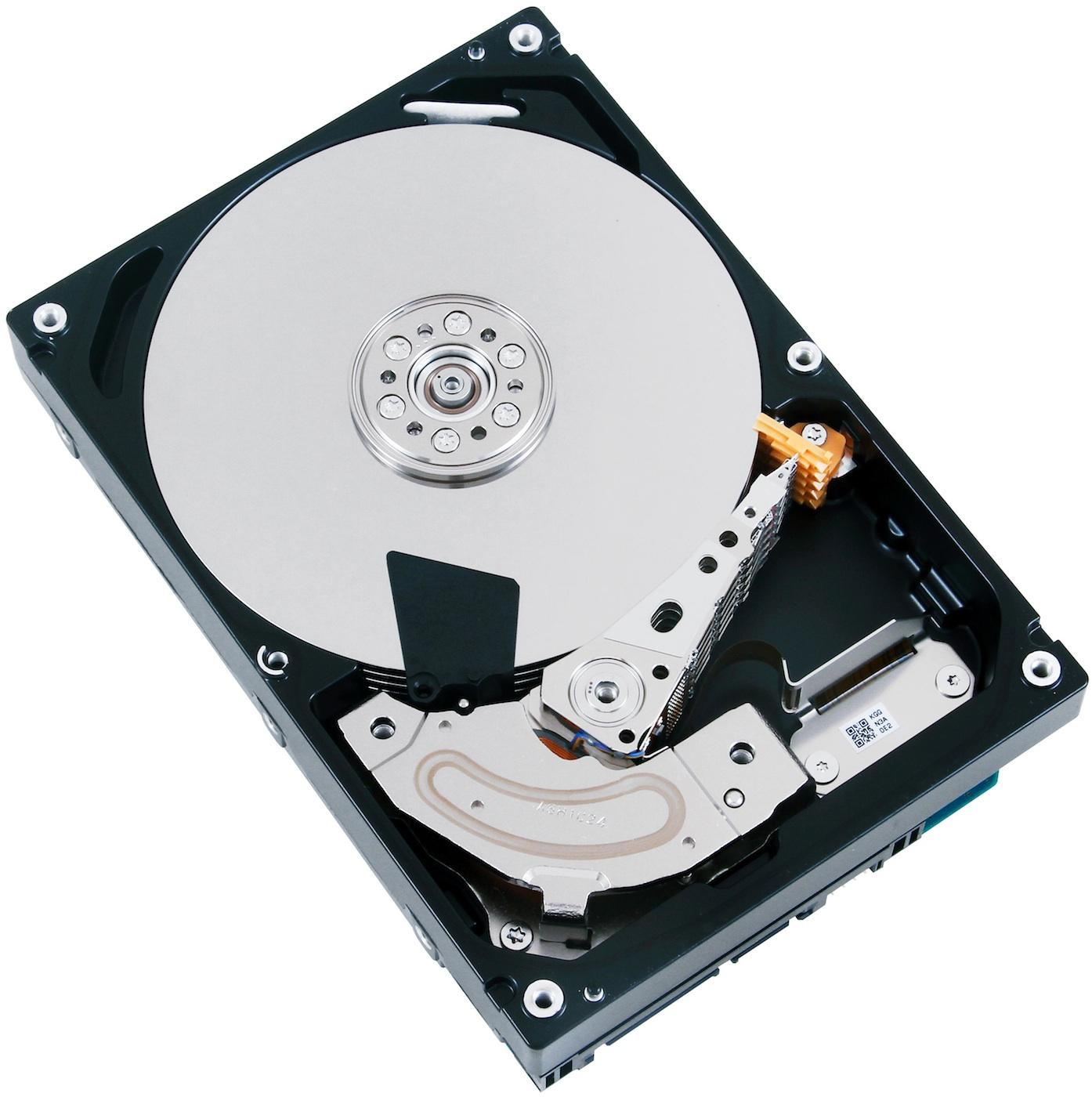 Mehr Kapazität: Auch Toshiba bringt 4-TByte-Festplatten - Toshibas MG03xxx400-Serie - hier das 4TByte-Modell mit SATA-Schnittstelle (Bild: Hersteller)