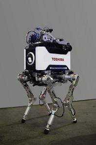 Toshibas vierbeiniger Roboter... (Bild: Toshiba)