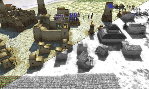Neue Grafikeffekte in 0 A.D. (Bild: Wildfire Games CC-BY-SA 3.0)