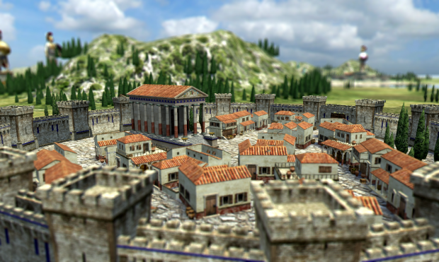 Neue Grafikeffekte in 0 A.D. (Bild: Wildfire Games CC-BY-SA 3.0)