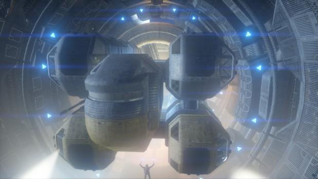 Szene aus dem Test Cloud Gate (Bild: Futuremark)