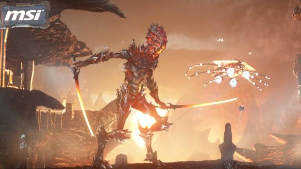 Hochauflösender Screenshot aus Fire Strike (Bild: Futuremark)
