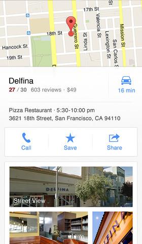 Karten-App: Google Maps für iOS verfügbar -