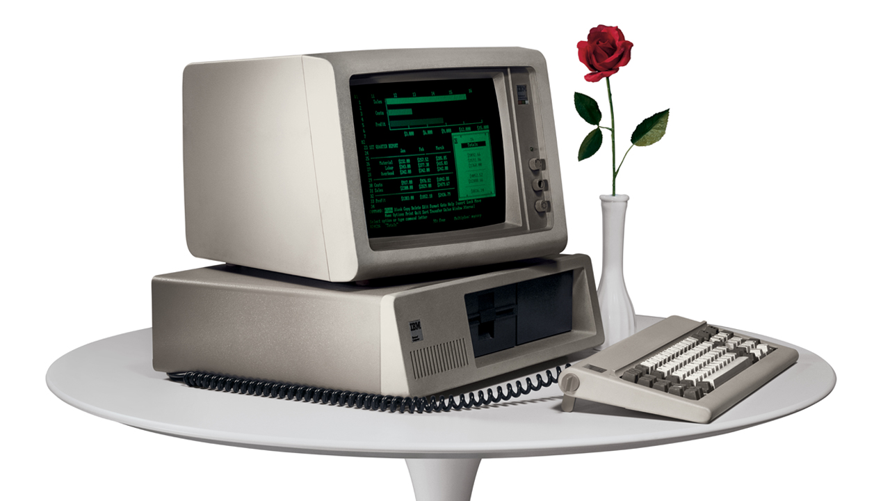 Analyse: Der Beginn der PC-Krise - Der erste IBM PC aus dem Jahr 1981 (Bild: IBM)