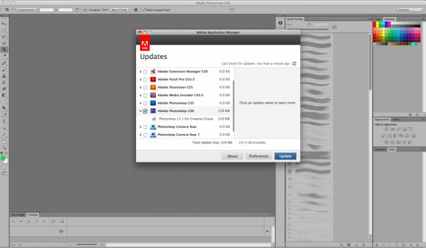 Updates für Photoshop und Illustrator CS6 (Bild: Adobe)