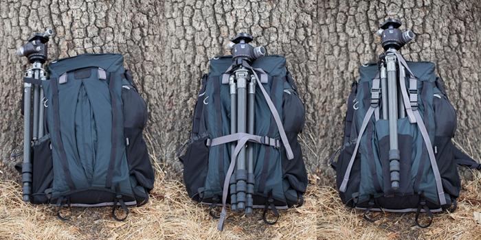 Vom Rücken zum Bauch: Fotorucksack muss nicht in den Dreck geworfen werden -