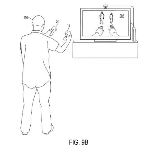 Bild aus dem Patentantrag von Sony