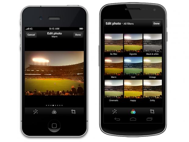 Twitter - Bildbearbeitung und Filtervorschau unter iOS und Android (Bild: Twitter)