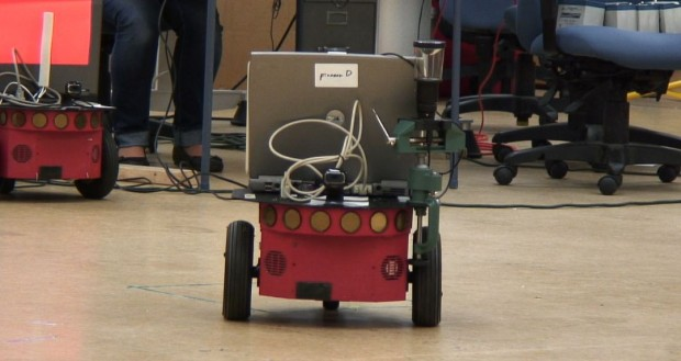 Georgia-Tech-Forscher haben Roboter hinterhältiges Verhalten gelehrt. (Foto: Georgia Tech)
