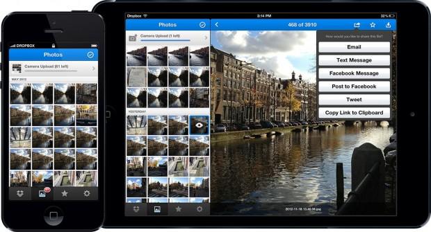 Dropbox 2.0: Galerie mit Fotos in chronologischer Reihenfolge (Bild Dropbox)