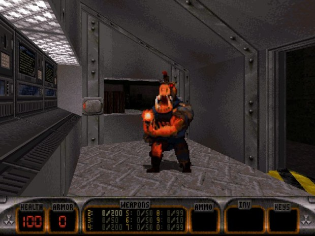 Duke Nukem 3D (Screenshots: Gog.com)