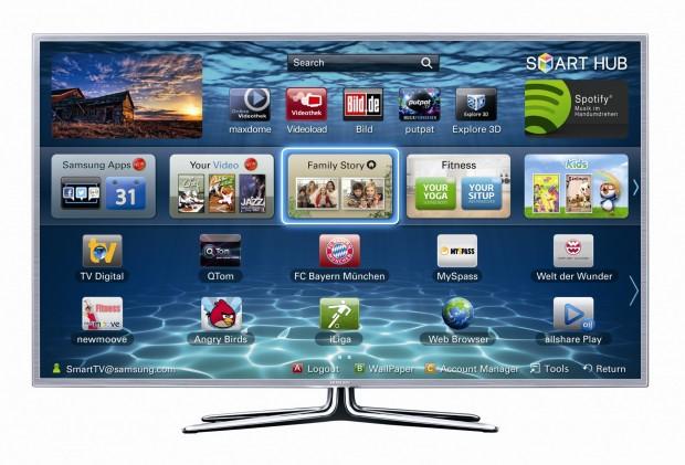 Auf Samsung-Fernsehern kann nun auch Videoload genutzt werden. (Bild: Samsung)