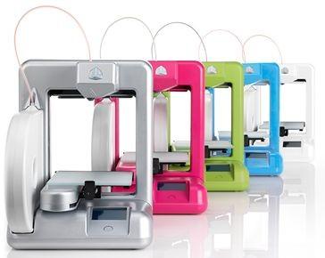 Den neuen Cube gibt es in mehreren Farben. (Bild: 3D Systems)