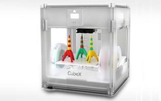 Cube X baut größere Objekte und - je nach Modell - auch in mehreren Farben. (Bild: 3D Systems)