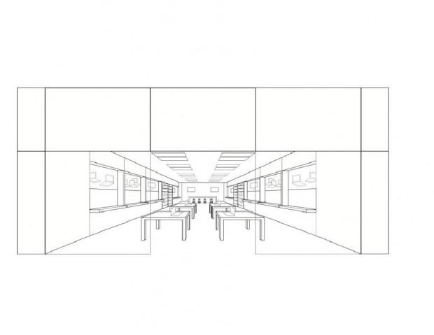 Apple hat das Erscheinungsbild seiner Ladenkette als US-Marke registriert. (Bild: US-Patent- und Markenamt)