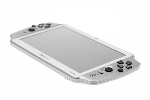 Das 7-Zoll-Tablet hat analoge Steuerungselemente. (Bild: Nina Sebayang/Golem.de)