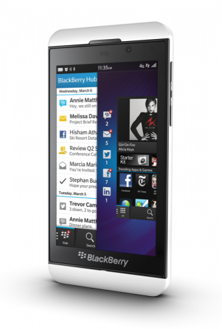 Blackberry Z10 (Quelle: Blackberry)
