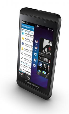 blackberry z10 und q10 erste smartphones mit blackberry. Black Bedroom Furniture Sets. Home Design Ideas