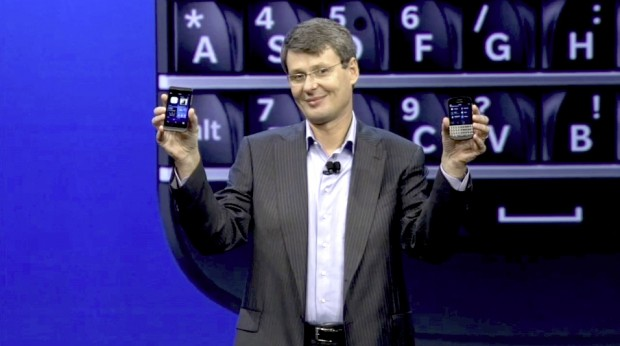 Blackberry stellt Z10 und Q10 vor (Quelle: Blackberry / Screenshot: Golem.de)