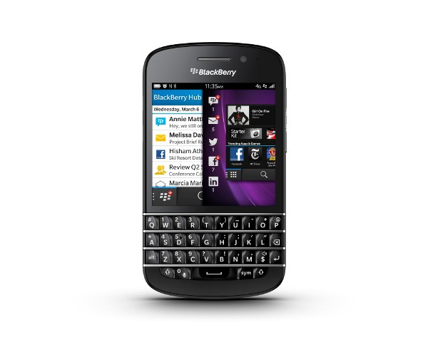 Blackberry Q10 (Bild: Blackberry)