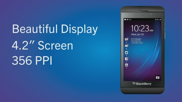 Blackberry Z10 (Bild: Blackberry/Screenshot: Golem.de)