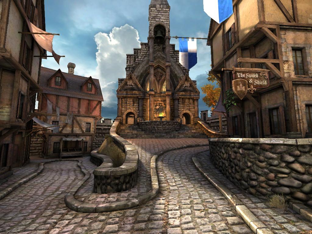 Android: Epic Citadel als Grafik-Benchmark - Epic Citadel