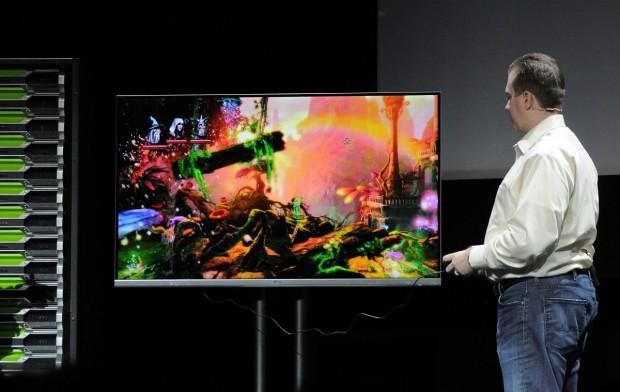 Das Spiel Trine 2 kommt aus der Cloud auf den Fernseher (Fotos: Nico Ernst/Golem.de)