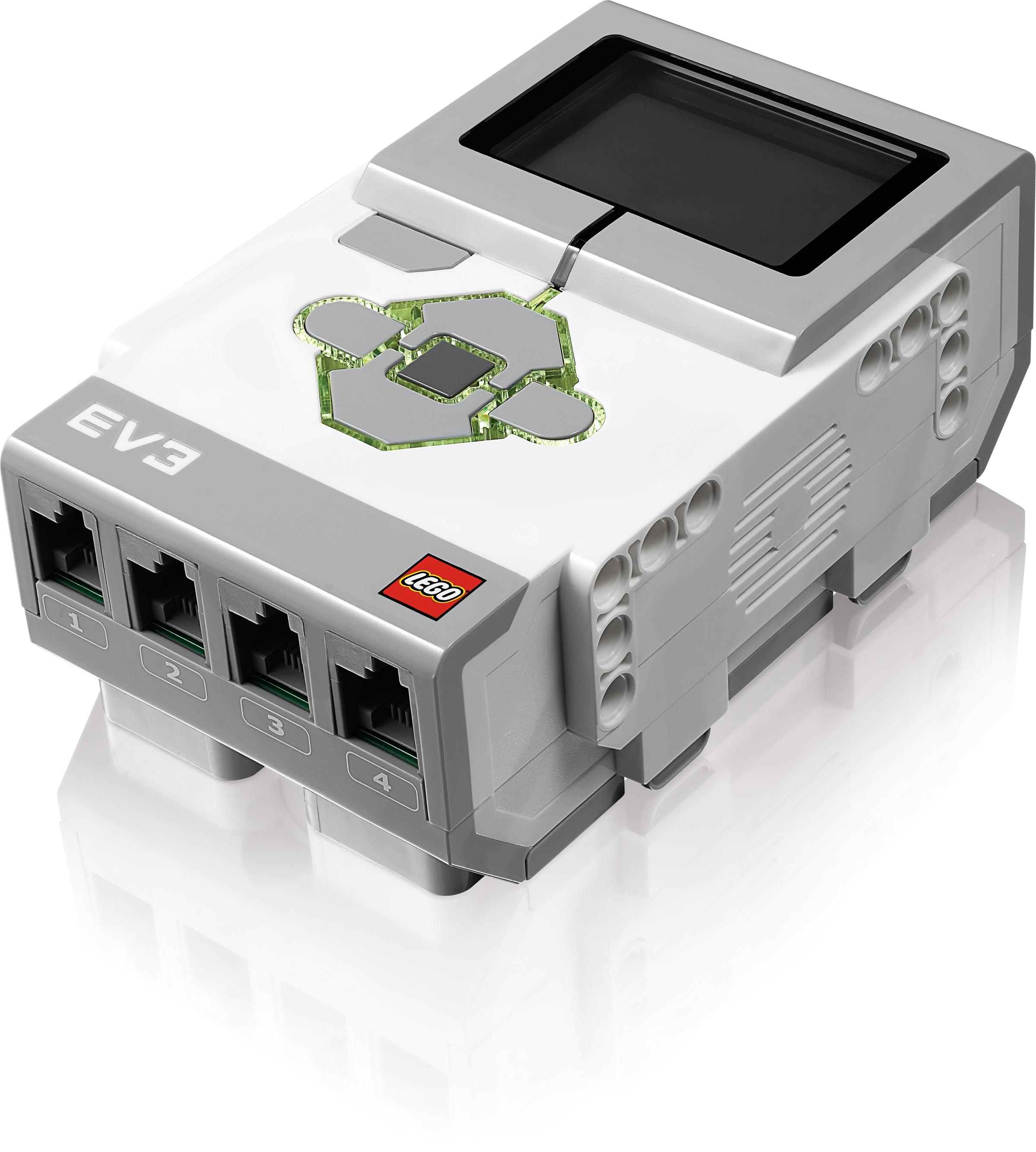 Lego Mindstorms EV3: Neue Roboterplattform von Lego - Lego Mindstorms EV3: EV3 Intelligent Brick alias P-Brick