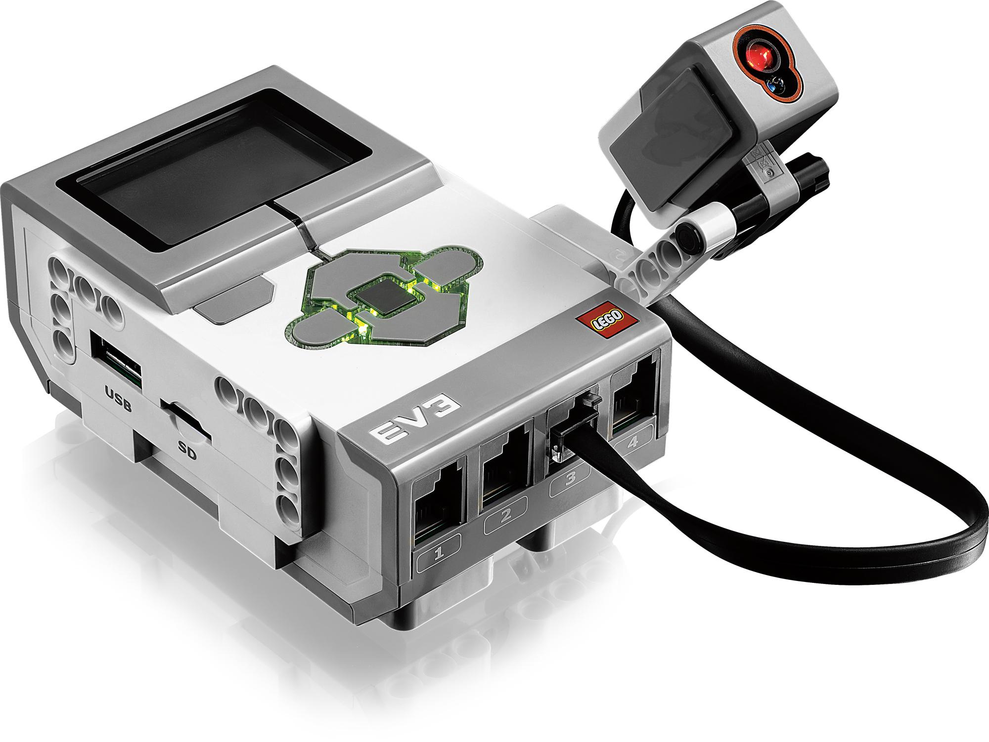Lego Mindstorms EV3: Neue Roboterplattform von Lego - P-Brick mit Sensor