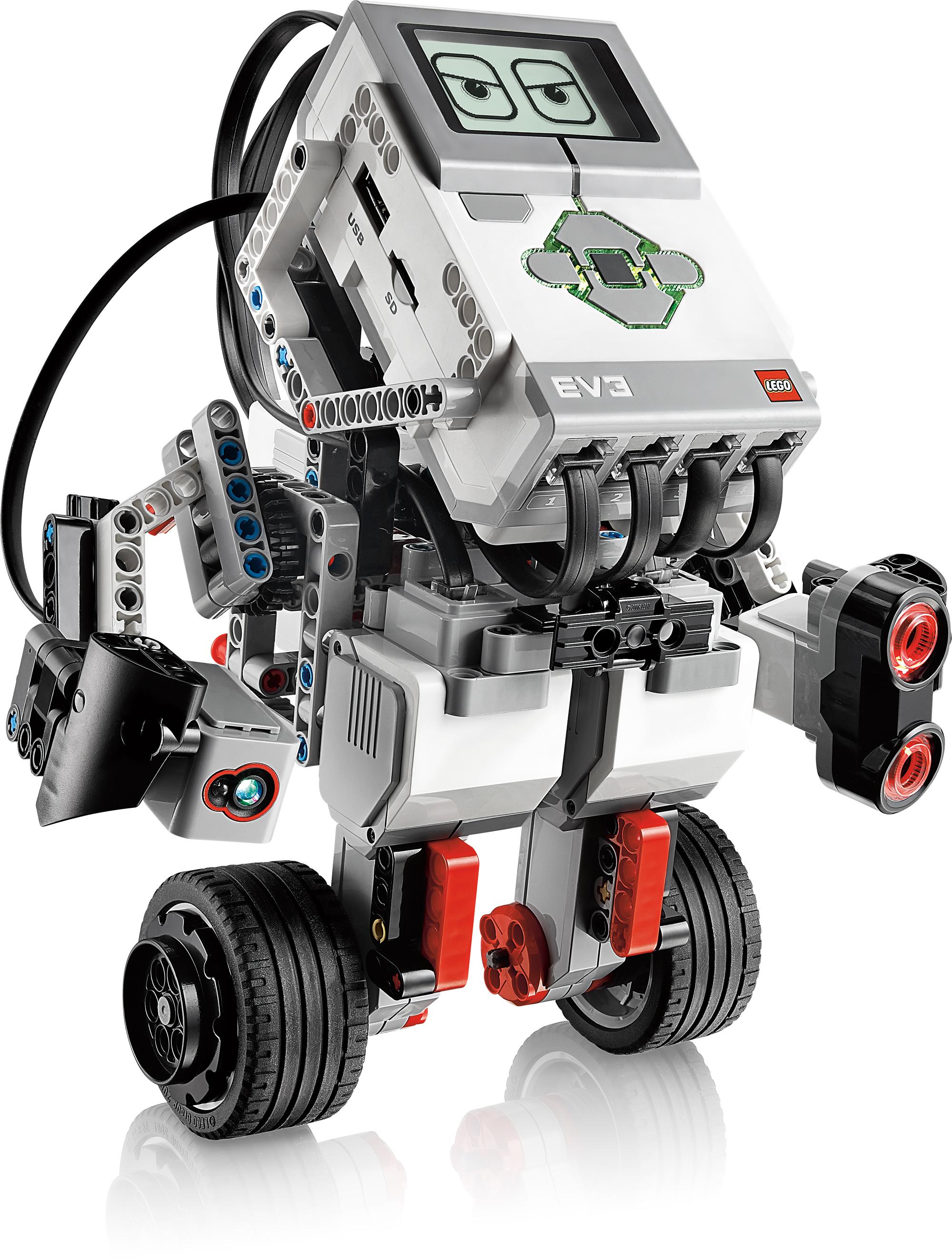 Lego Mindstorms EV3: Neue Roboterplattform von Lego - Lego Mindstorms EV3: Gyroboy