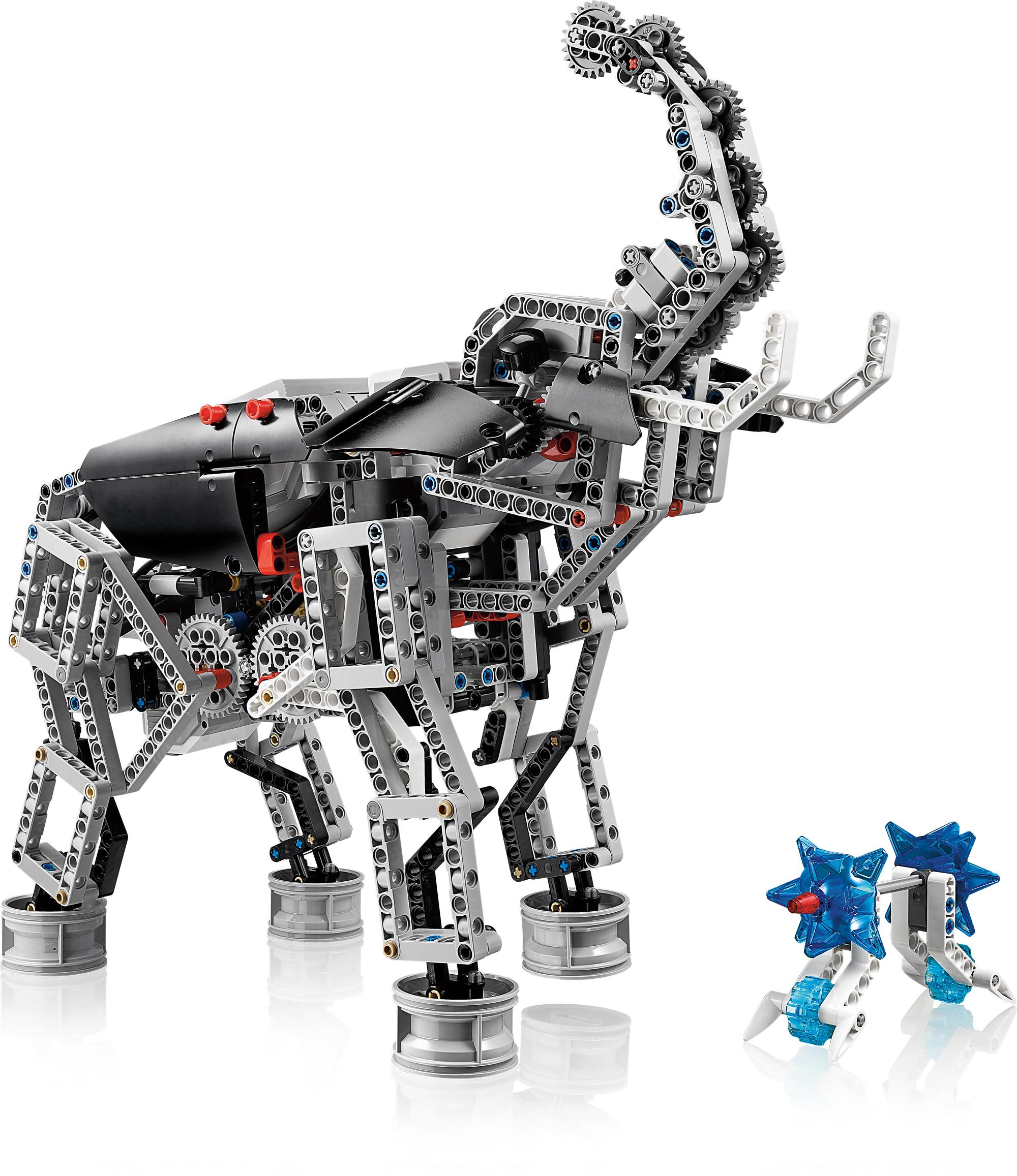 Lego Mindstorms EV3: Neue Roboterplattform von Lego - Lego Mindstorms EV3: Elephant