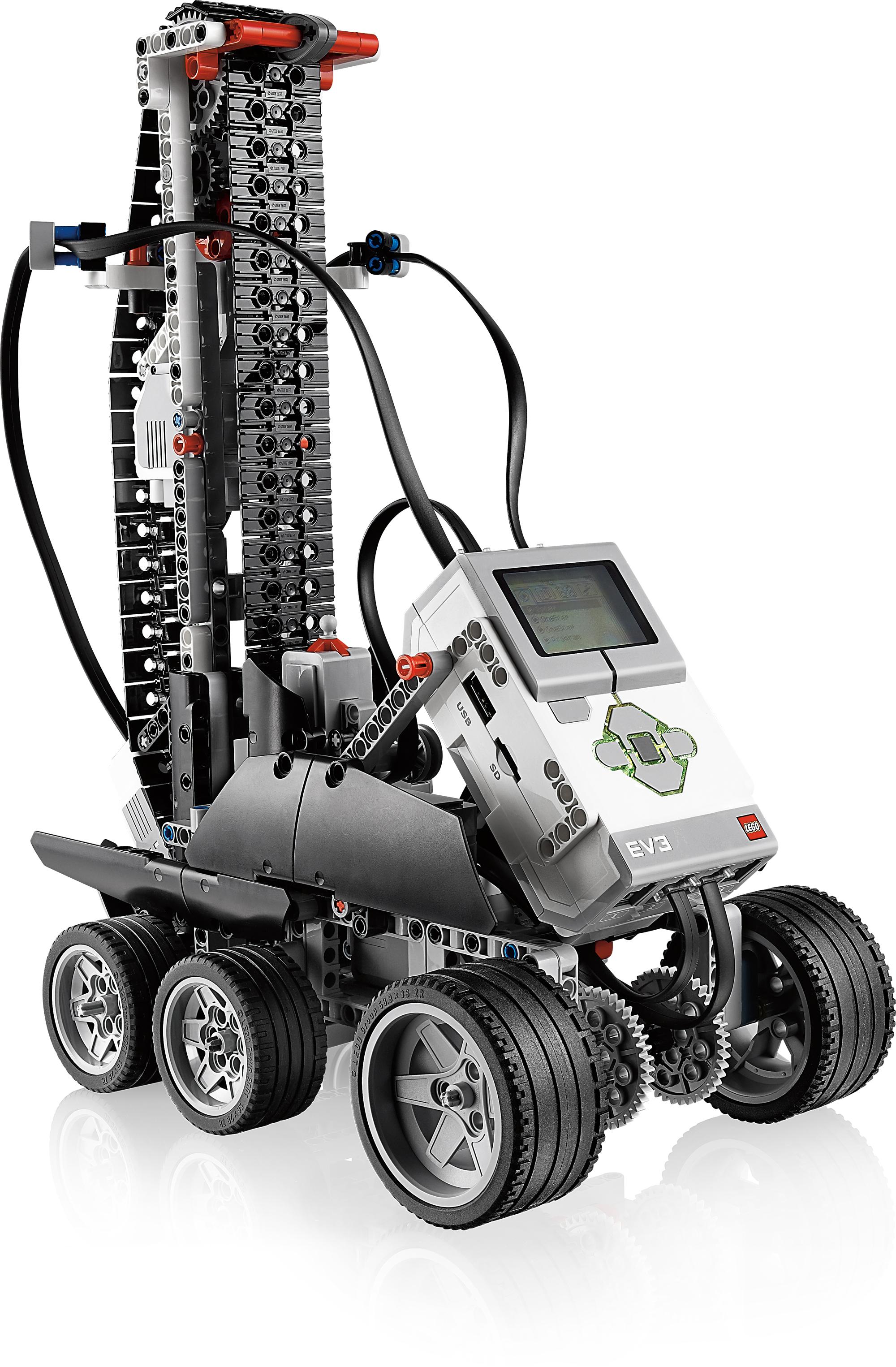 Lego Mindstorms EV3: Neue Roboterplattform von Lego - Lego Mindstorms EV3: Stufenkletterer