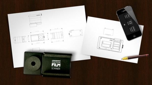 Lomography Smartphone Film Scanner (Bild: Kickstarter)