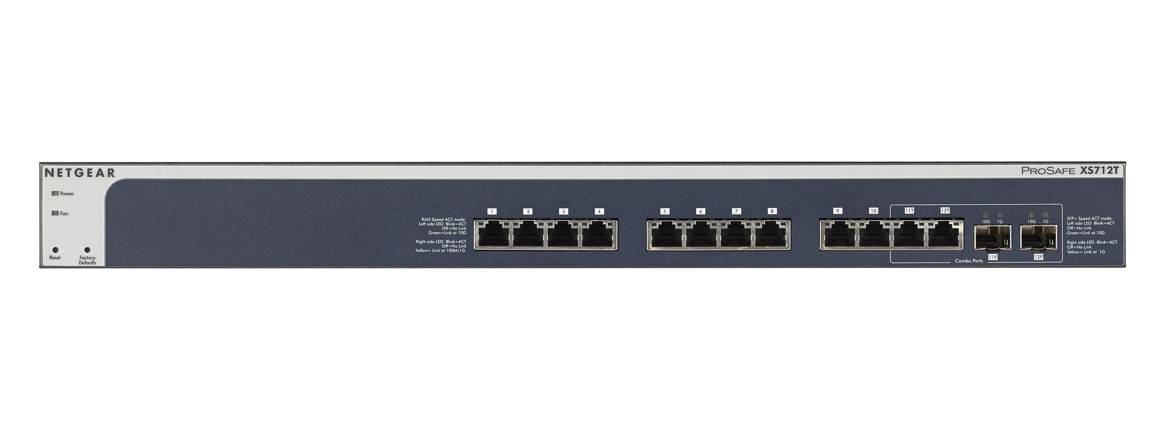 Netgear Xs708e 10 Gigabit Ethernet Switch F 252 R Unter 1 000 Euro Screenshots