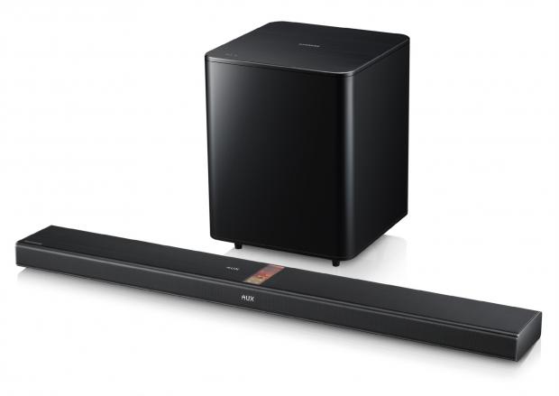 Samsung Soundbar-System HW-F750 (Bild: Samsung)