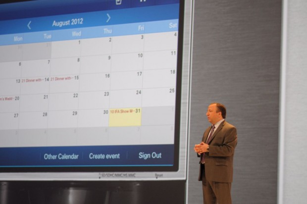 Samsung zeigt den T9000. (Bilder: Andreas Sebayang/Golem.de)