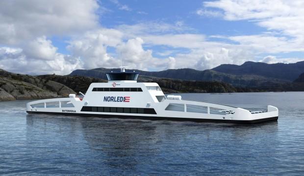 Ab 2015 soll eine Fähre mit Elektroantrieb auf dem Sognefjord verkehren. (Bild: Siemens)