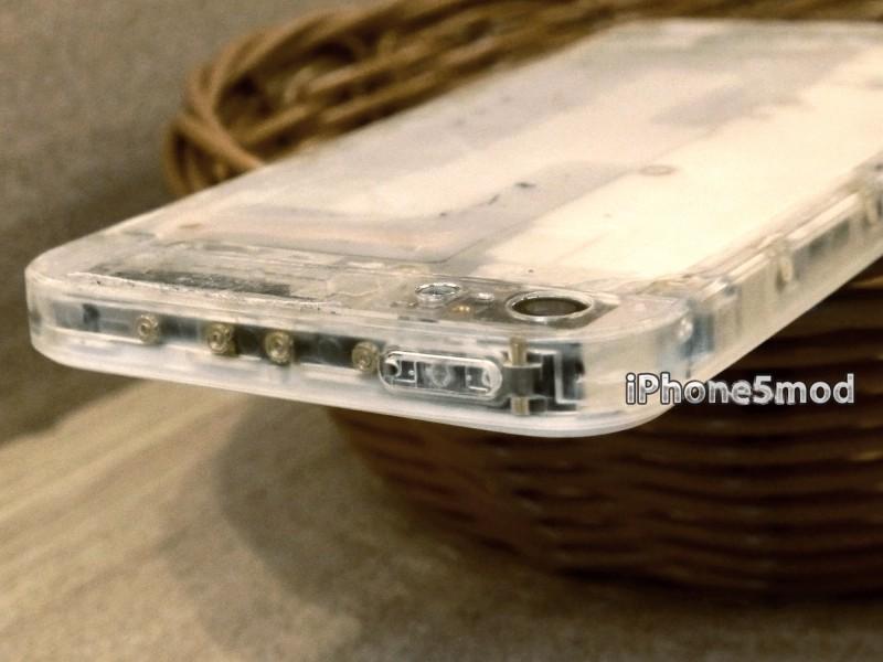 Modding: Durchsichtiges Gehäuse für das iPhone 5 - Translucent Mod (Bild: iPhone5Mod)