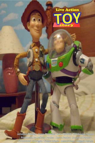 Live-Action Toy Story - mit den Puppen zum Originalfilm gedreht (Bild: Jonasons Movies)